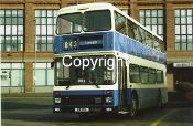 Yorkshire Coastliner No. 404 K4YCL (843 Leeds ns Munro House)