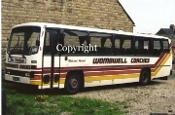 Wombwell Coaches PJF14R - orig. Leicester CT