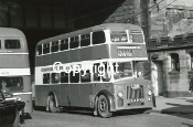 Cunningham's Bus Service No. 45 HJN843 - orig. Southend