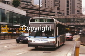 China Motor Bus No. CX2 GD6249 (red taxi b/h)