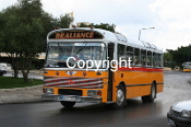 Malta Route Bus DBY300 - orig. TNY495G (n/s r/about)