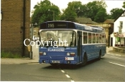 Clarkson JBR689T - orig. United AS (turning right n/s)