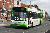 Tates Travel P345JND - orig. GMB South (Asda)
