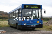 Stagecoach Bluebird & Highlands No. 32200 P817EST