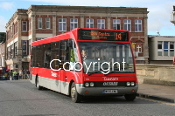 Transdev York No. 1262 MX05EMK