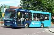 Arriva Yorkshire Group No. 1018 YY14LGG (n/s 120)