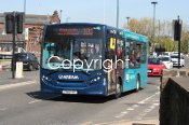 Arriva Yorkshire Group No. 1028 YY14LGZ (n/s 102)