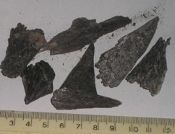 Black Kyanite - 75 grammes (33) one lot only