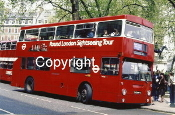 London Transport No. DM2644 THX644S
