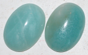 Amazonite  8x6mm cabochon (3481)