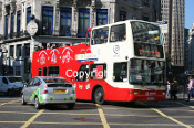 Arriva London No. DLP208 T208XBV (o/s)