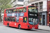 Arriva London No. HV10 LJ60AXB